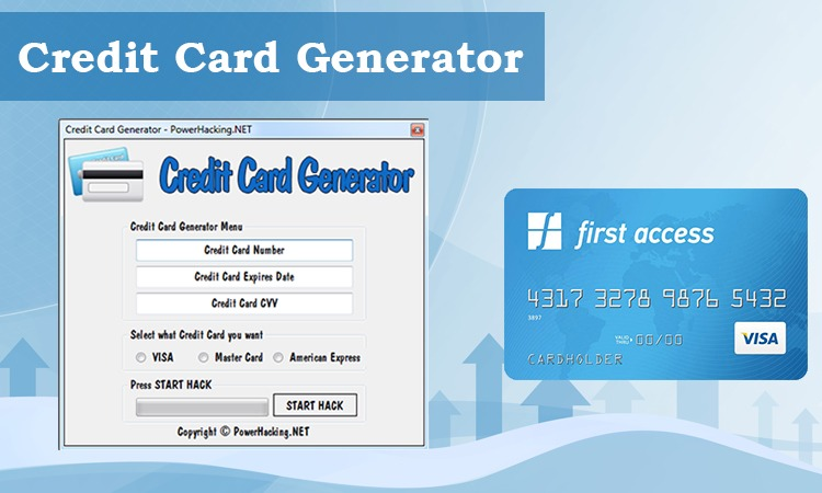 How To Identify Fake Credit Card Through Credit Card Generator