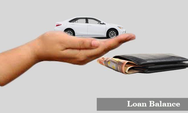 loan balance