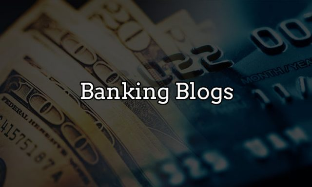 Banking blogs