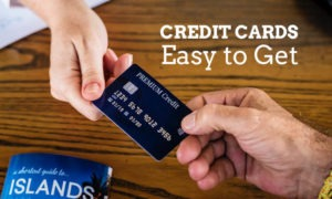 Credit card easy to get