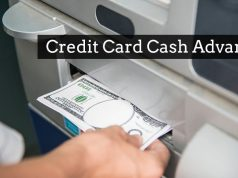 Credit card cash advance
