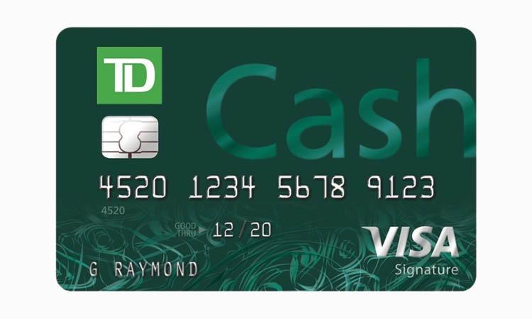 TD Credit card