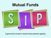 Mutual funds SIP