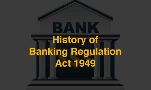 Banking Act 1949