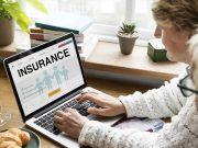 Senior Adult Life Insurance Healthcare Concept