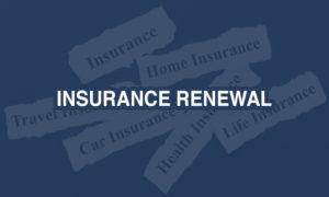 Insurance Renewal